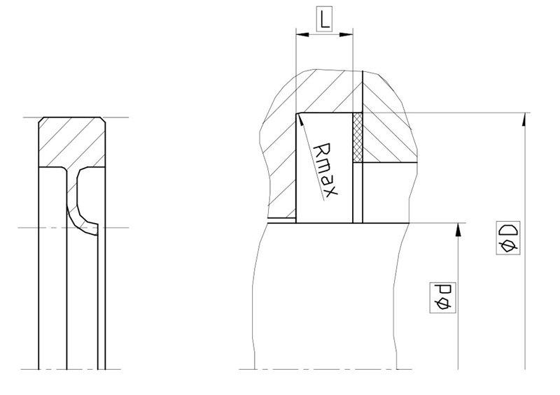 Уплотнение вала R11-F. Роторное уплотнение