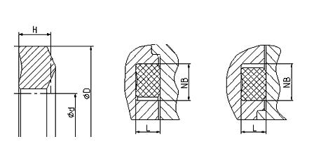 Уплотнение вала R35-A. Фланцевое уплотнение